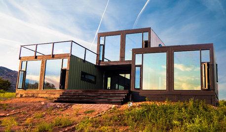 Wohnen im Containerhaus – das günstige Eigenheim ist im Kommen