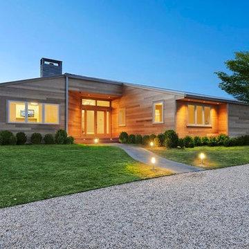 Modern Single Story Home
