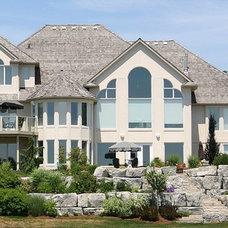 Contemporary Exterior by Wingelaar Fine Homes (chris.business@rogers.com)