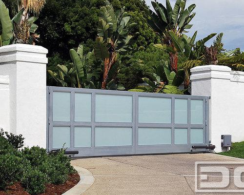 Contemporary Gate Design | Houzz