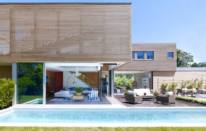 Houzz Tour: A Modern Hamptons House Goes for Breezy Tranquillity
