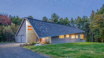 Modern Sustainable Maine House, aka Zigzag House