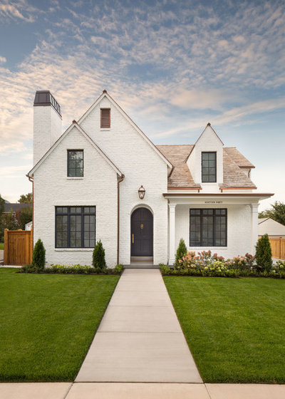 Traditional Exterior by The Fox Group