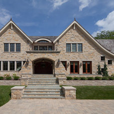 Traditional Exterior by Kyle Hunt & Partners, Incorporated
