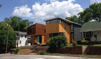 Modern Urban Infill Houses in an Old Neighborhood