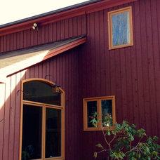 Farmhouse Exterior by Amy Krane Color