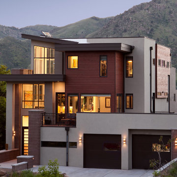 Modern with a view