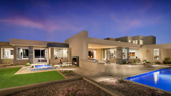Modern with Mountain Views