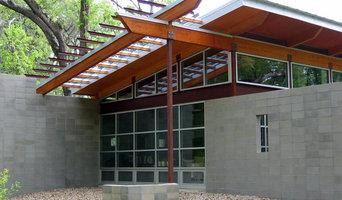 Modern woodland home
