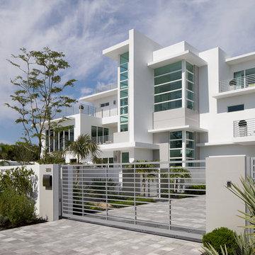 Modernism Defined in a Spacious Miami Beach Home