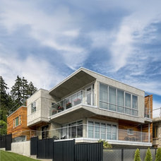 Modern Exterior by site lines architecture inc.