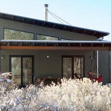Contemporary Exterior by Atmosphere Design Build