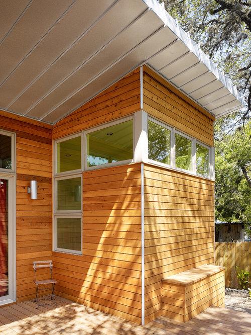 Cedar Siding Metal Roof Houzz