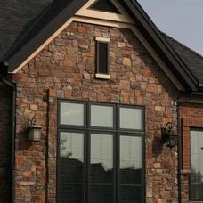 Traditional Exterior by Montana Rockworks, Inc