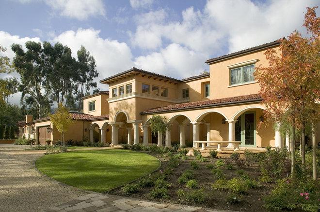 Mediterranean Exterior by Conrado - Home Builders
