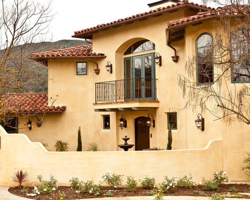 Stucco color ideas pictures remodel and decor for Mediterranean stucco