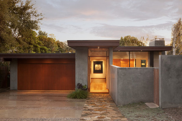 Modern Exterior by Allen Construction