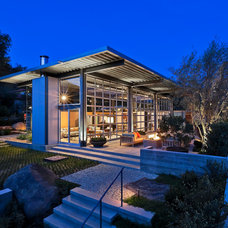 Modern Exterior by Caputo Construction