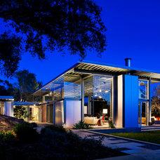 Modern Exterior by Caputo Construction