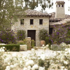 Traditional Exterior by Amy Noel Design
