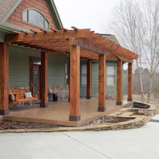 Traditional Exterior by Precision Homecrafters