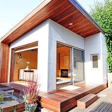 Modern Exterior by Fivedot Design Build
