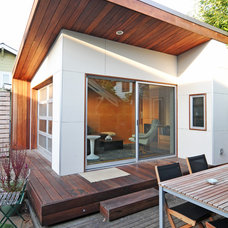 Modern Exterior by Fivedot Design Build