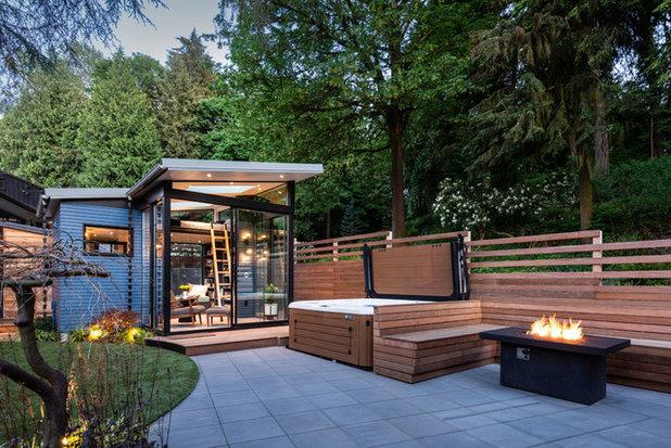 Contemporary Exterior by Proform Construction LLC