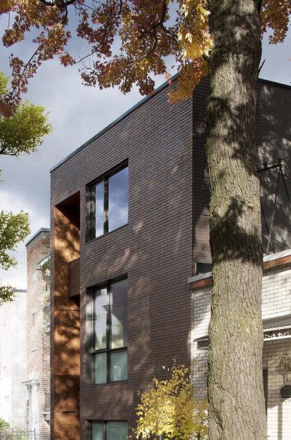 Modern Exterior by Natalie Dionne Architecture