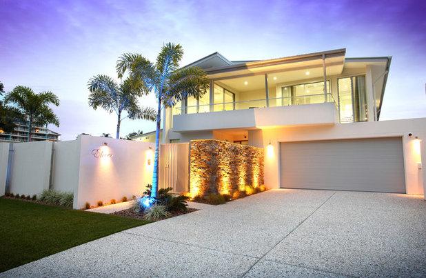 Contemporary Exterior by Skale Building Design