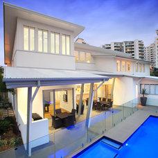 Contemporary Exterior by SBT Designs