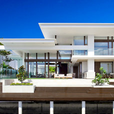 Contemporary Exterior by Mixed Element