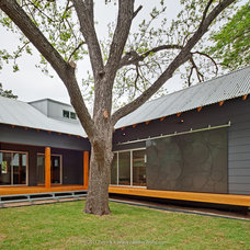 Eclectic Exterior by H&H Hardwood Floors