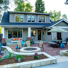 Traditional Exterior by Beth Lassen Design Co.