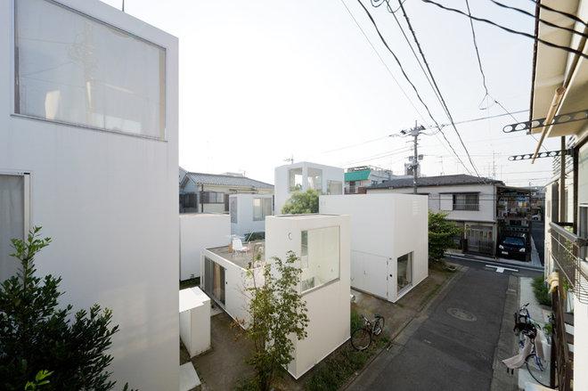 Contemporáneo Fachada Moriyama House