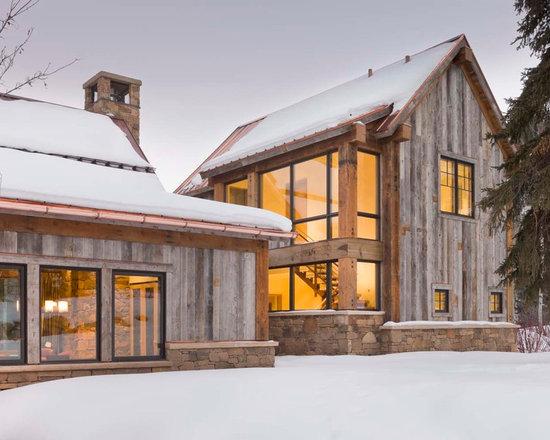 Mountain House Exterior Home Design Ideas, Remodels & Photos