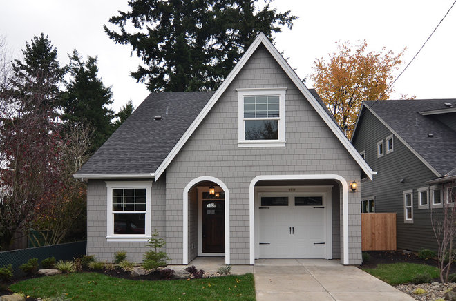 1000 images about house exterior on pinterest gauntlet - Sherwin williams dorian gray exterior ...