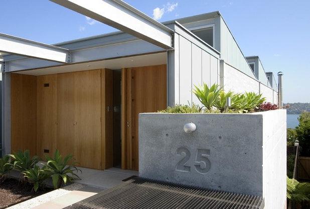 Minimalistisch Häuser by Porebski Architects