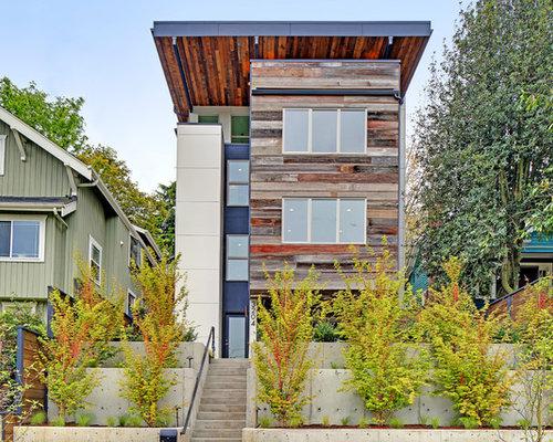 Exterior home ideas design photos houzz for Pacific exteriors llc
