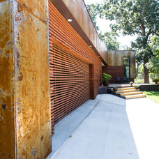 Contemporary Exterior by GB Group Construction