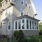 Sunporch Addition Traditional Exterior Boston By