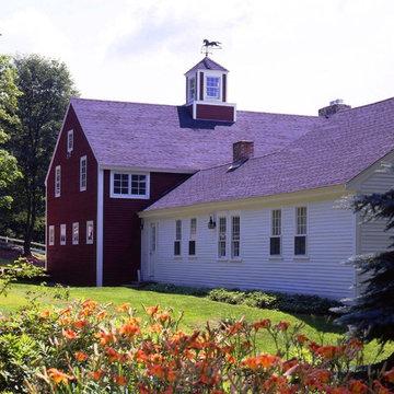 Mount Vernon Post and Beam Barn Addition