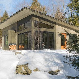 Стильный дизайн: дом в стиле модернизм для охотников - последний тренд