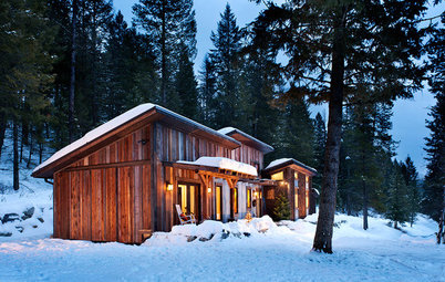 Houzz Tour: Resourcefulness Shows in a Rugged Montana Cabin