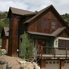 Traditional Exterior by Black Canyon Builders