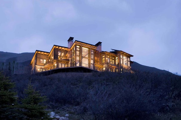 Contemporary Exterior by Creative West Architects
