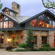 Traditional Exterior by Daryl S. Rantis Architect