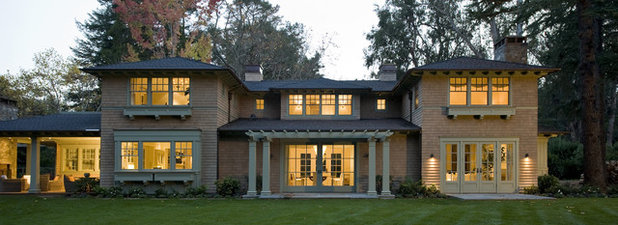 Traditional Exterior by Arcanum Architecture