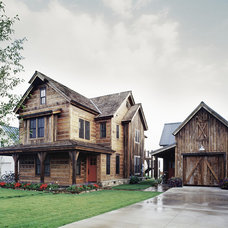 Rustic Exterior by Tim Cuppett Architects