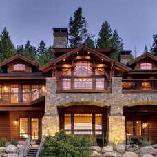Traditional Exterior by Hendricks Architecture